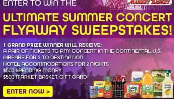 ASICS Summer Pack Concert Flyaway Sweepstakes - Win Rock Flight