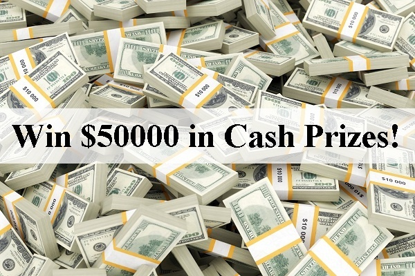Team 10 Big Cash Sweepstakes - Win $50000 In Cash Prizes