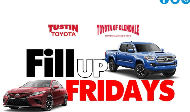 Oremor Automotive 2019 Fill Up Fridays Sweepstakes - Chance To Win $100 Gift Card