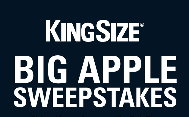The KingSize Big Apple Sweepstakes - Stand To Win A Trip To New York