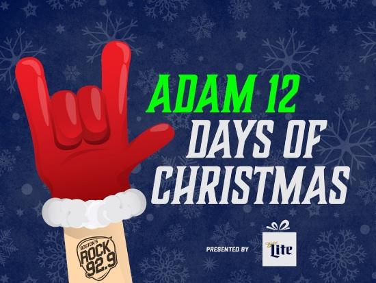 ROCK 92.9 Adam 12 Days Of Christmas Contest