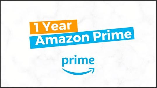 BlueFox 1 Year Of Amazon Prime Giveaway