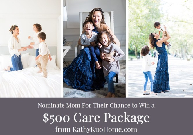 Kathy Kuo Home Mothers Day Giveaway