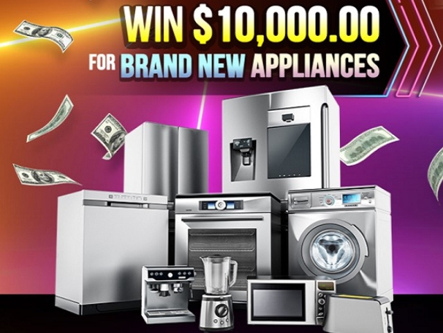 PCH $10k New Appliances Sweepstakes