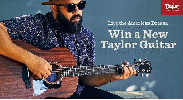 Zzounds Taylor Guitar Giveaway