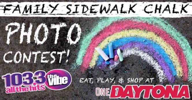 103.3 The Vibe Sidewalk Chalk Photo Contest