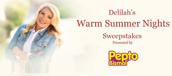 Delilahs Warm Summer Nights Sweepstakes