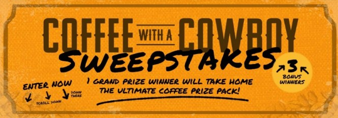 Coffee With A Cowboy Sweepstakes