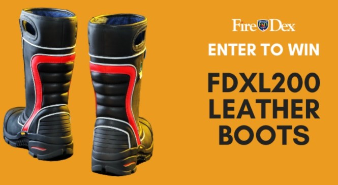 FDXL200 Leather Boots Giveaway