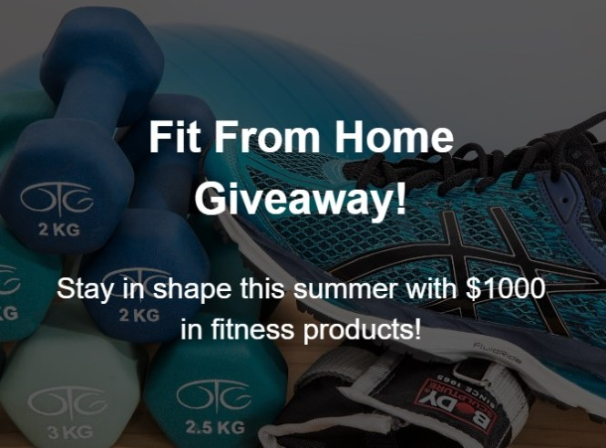 ITechDeals.com Fit From Home Sweepstakes
