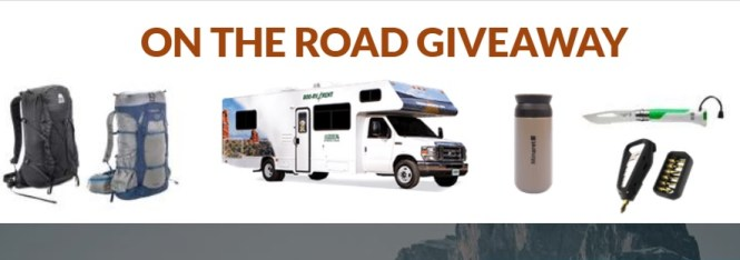 Nomadik On The Road Giveaway