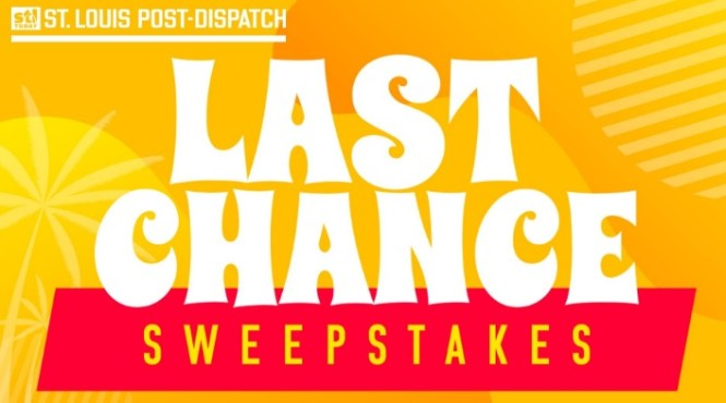 St Louis Post Dispatch Last Chance Sweepstakes