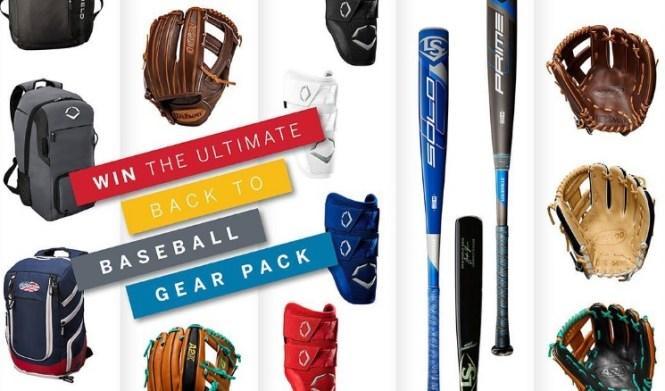 Wilson Sporting Goods Back To Baseball Sweepstakes