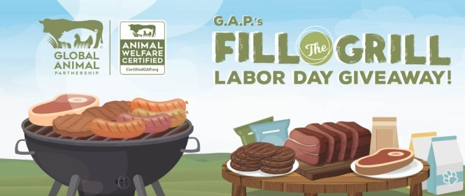 Global Animal Partnership Fill The Grill Labor Day Giveaway
