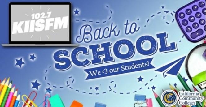 KIIS-FM Back To School 2020 Sweepstakes