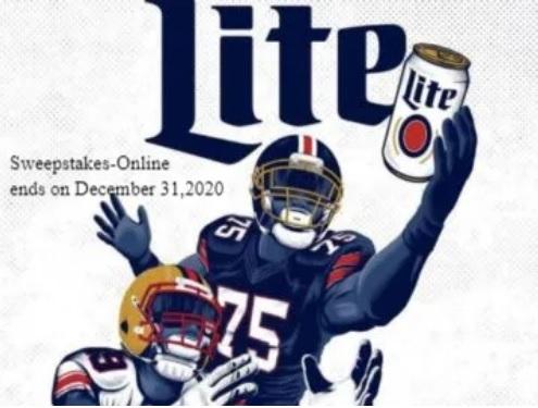 Miller Lite National 2020 Football Promotion