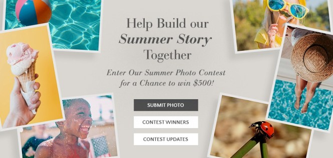 The Gallery Collections Summer Photo Contest
