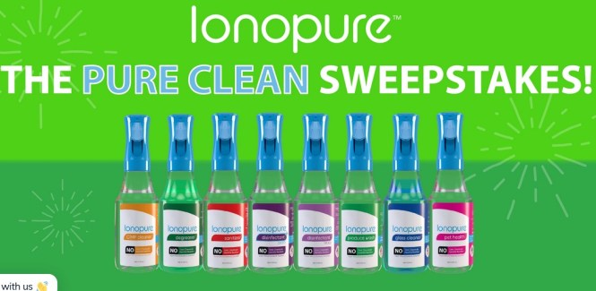 Ionopure Pure Clean Sweepstakes