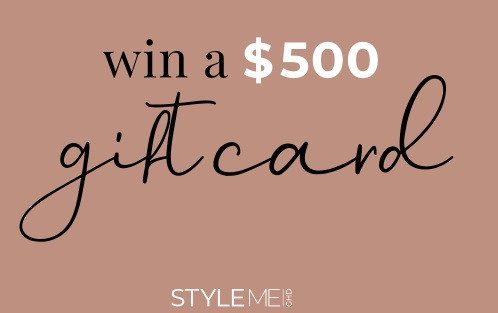 StyleMeGHD $500 Gift Card Giveaway