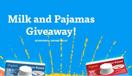 Organic Valley Milk And Pajamas Giveaway