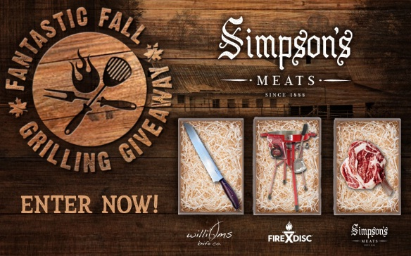 Simpson Meats, FIREDISC And Williams Knife Co. 2020 Giveaway