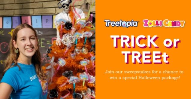 Zolli X Treetopia Trick Or TREEt Giveaway