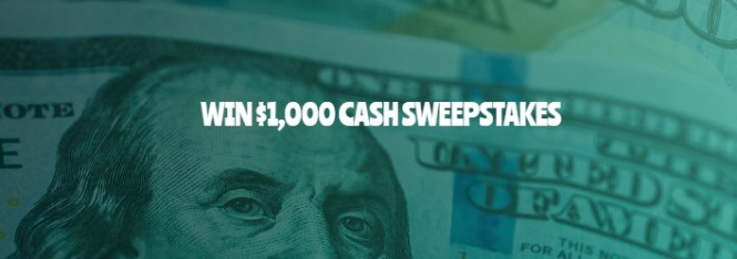 102Drive $1,000 Cash Sweepstakes