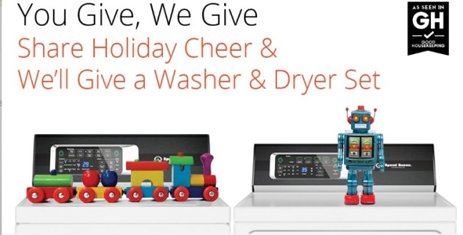 Alliance Laundry Systems Speed Queen You Give, We Give Sweepstakes