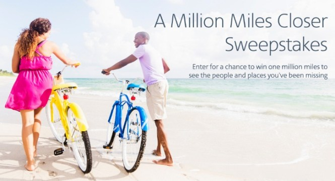 American Airlines A Million Miles Closer Sweepstakes