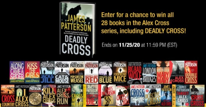 Hachette Book Group Novel Suspects James Patterson Sweepstakes