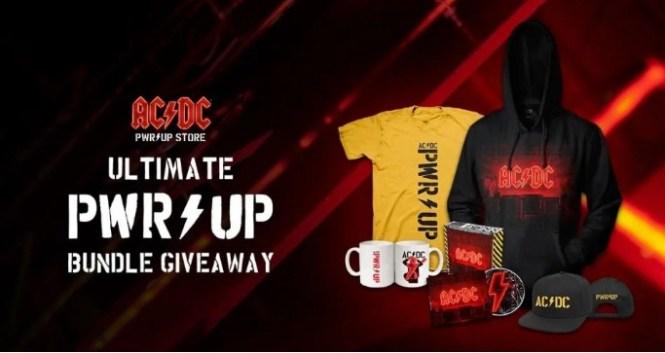 Musictoday, Inc. AC DC POWER UP Bundle Giveaway