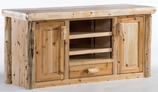 Northern Log Supply Entertainment Center Giveaway