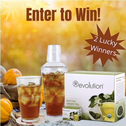 Organic Earl Grey Green Tea And Shaker Giveaway