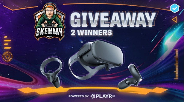PLAYR.gg Skenmy Oculus Quest 2 Giveaway