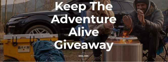 Roofnest Keep The Adventure Alive Giveaway
