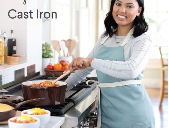 Woman World Ayesha Curry Dutch Oven Sweepstakes - Enter To Win OVEN