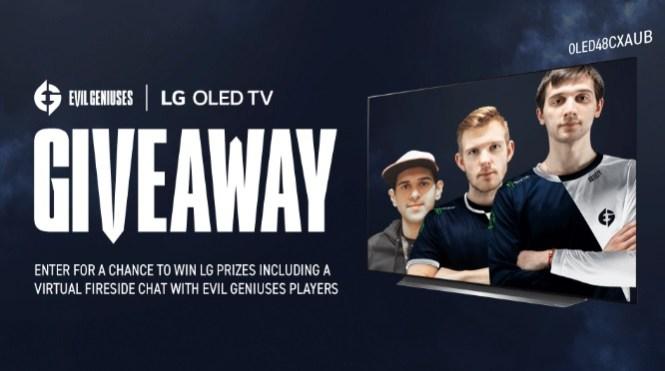 Evil Geniuses X LG OLED Giveaway