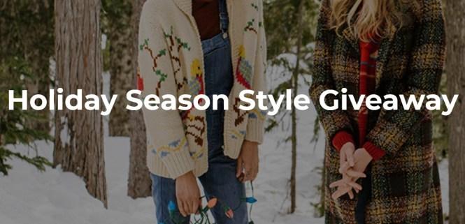 Holiday Season Style Giveaway