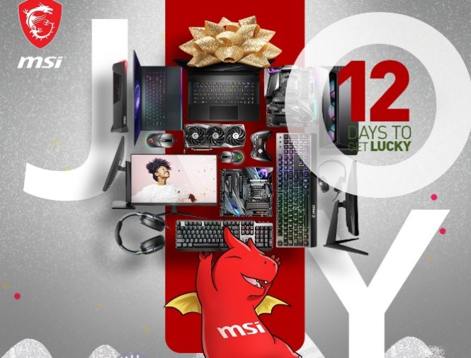 MSI 12 Days To Get Lucky Sweepstakes