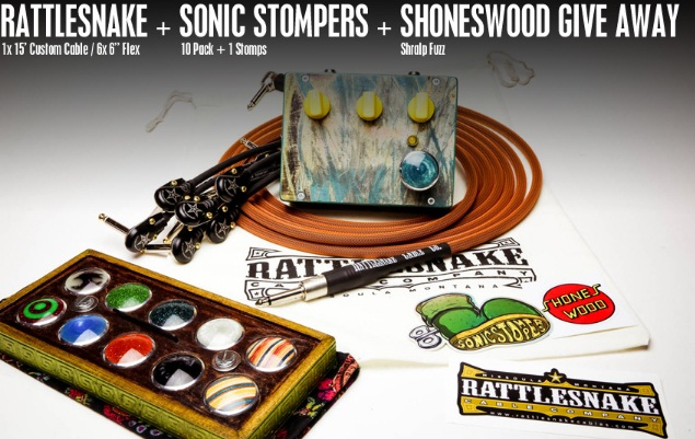 Rattlesnake Cable Company, LLC Rattlesnake Cables Sonic Stompers Giveaway