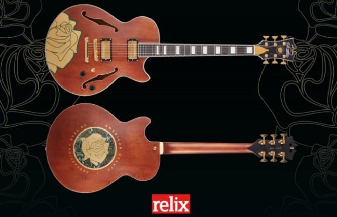 Relix Media D Angelico Guitars Dead American Beauty Guitar Giveaway