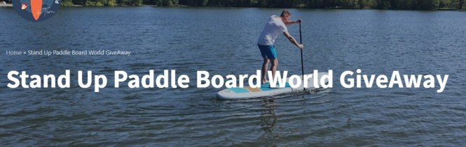 Stand Up Paddle Board World Giveaway