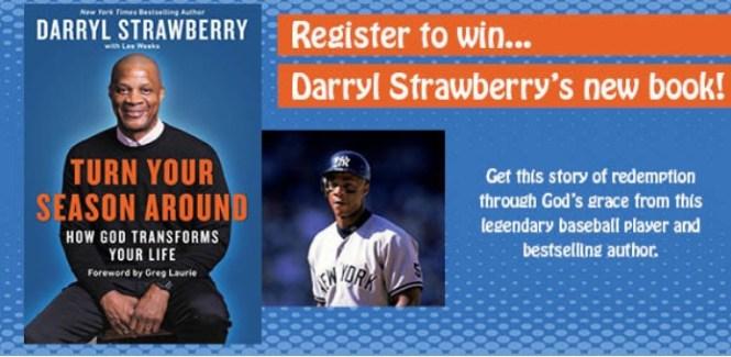 WFIL AM 560 Darryl Strawberry Brand New Book Sweepstakes