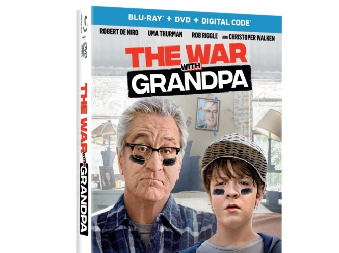 War With Grandpa Blu-ray Combo Pack Giveaway