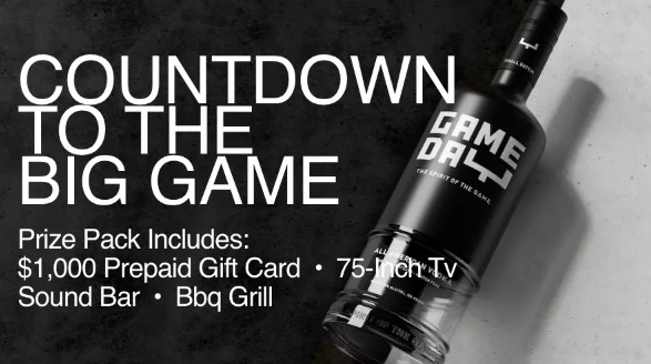 iHeartMedia + Entertainment Gameday Vodka Ultimate Game Day Experience Giveaway
