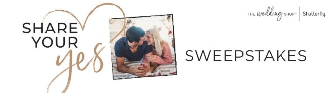 Shutterfly Share Your Yes Sweepstakes