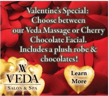 Veda Salon And Spa Valentine Day Giveaway