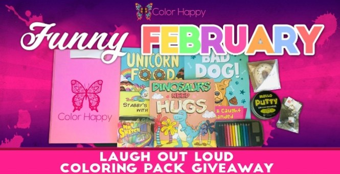 Funny February Coloring Contest