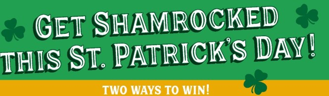 Left Hand Brewing Company The Left Hand Brewing Get Shamrocked Sweepstakes