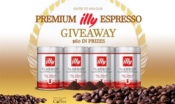 Best Quality Coffee Illy Coffee Giveaway